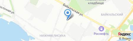 Детская музыкальная школа №7 на карте Иркутска