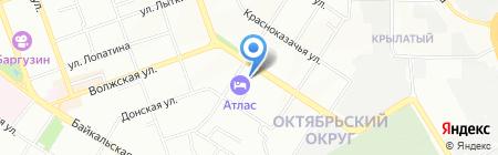 CIKLE на карте Иркутска