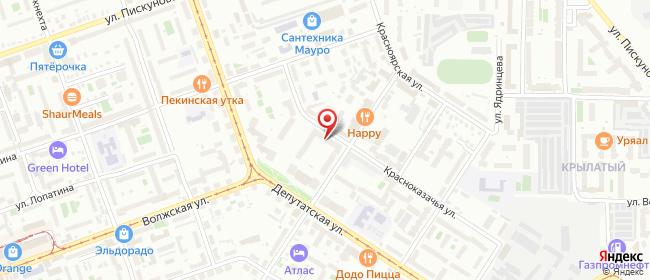 Карта расположения пункта доставки Lamoda/Pick-up в городе Иркутск