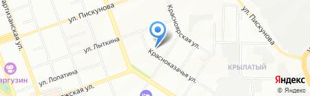 Стандарт-Энерго на карте Иркутска