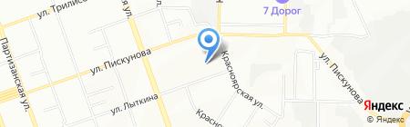 Иркутская печатная компания на карте Иркутска