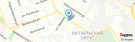 Baik-Al на карте Иркутска