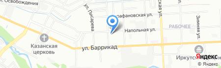 Стройка века на карте Иркутска