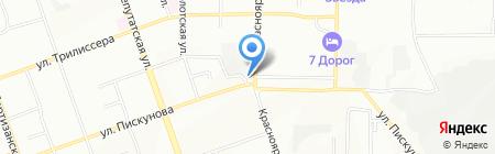 Цветы на карте Иркутска