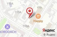Схема проезда до компании Ситилайт Принт в Иркутске