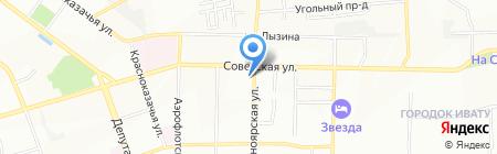 Росгосстрах на карте Иркутска