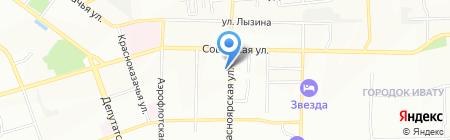 Вселенная туризма на карте Иркутска
