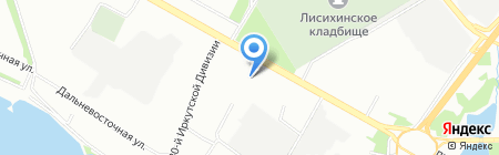 Детский сад №20 для детей раннего возраста на карте Иркутска