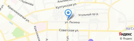 Байкал-экспресс на карте Иркутска