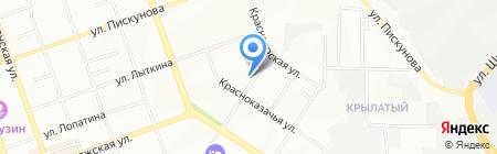 Альянс Трэвел на карте Иркутска