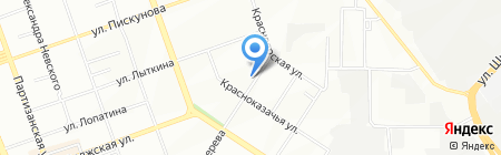 Флорилена на карте Иркутска
