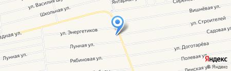 Автомойка на Объездной на карте Грановщиной