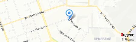 Анрем Сервис на карте Иркутска
