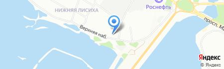 Нижняя Лисиха-3 на карте Иркутска