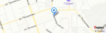 АЛИОН на карте Иркутска