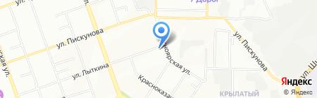 Уют-маркет на карте Иркутска