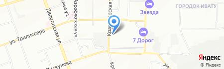 Промэкс на карте Иркутска