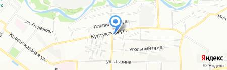 Травы Байкала на карте Иркутска
