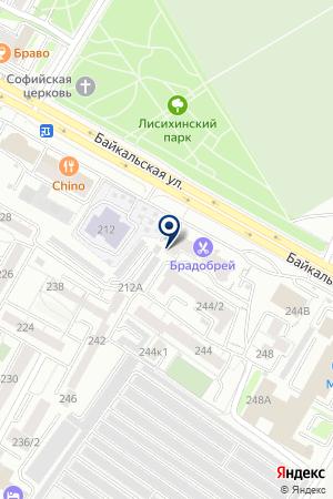 DasVegas на карте Иркутска