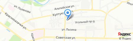 Центр компьютерной томографии на карте Иркутска