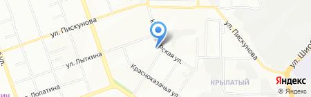 Орвикс на карте Иркутска