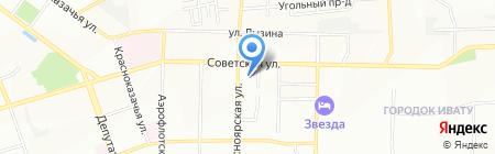 Уютный Уголок на карте Иркутска
