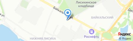 Алекса на карте Иркутска