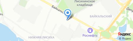 Паладин на карте Иркутска