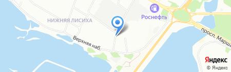 Белый ряд на карте Иркутска