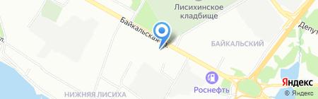 КоманDoor на карте Иркутска