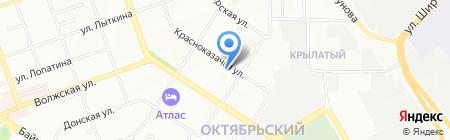 Жилсервис на карте Иркутска