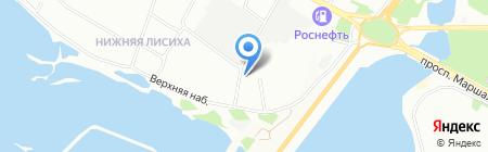 Служба оперативного спасения на карте Иркутска