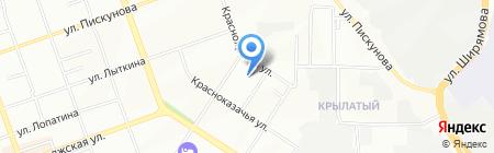 АСТ на карте Иркутска
