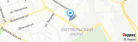 Грунт на карте Иркутска