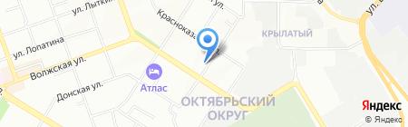 Лария на карте Иркутска