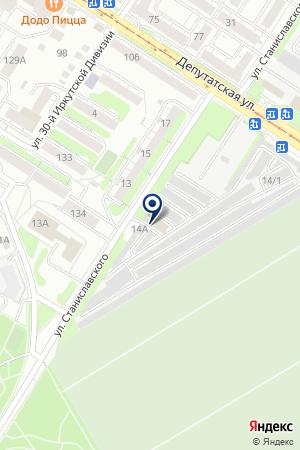 ИТКА на карте Иркутска