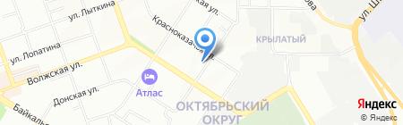 Аптека №9 на карте Иркутска