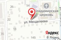 Схема проезда до компании Пальмира в Иркутске