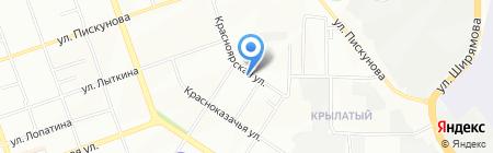 Спринт на карте Иркутска