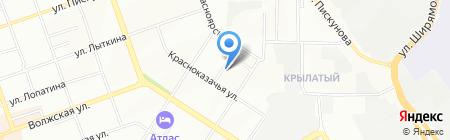 Байкальская радиоэлектронная компания на карте Иркутска