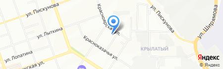 Автомастерская на карте Иркутска