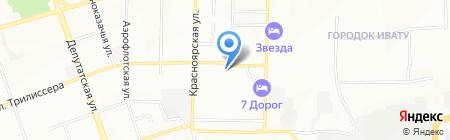 Ввс на карте Иркутска