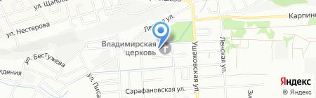 ДЮСШ №3 на карте Иркутска