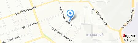 Сибирские стрелки на карте Иркутска