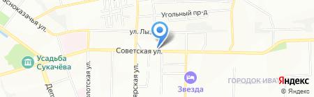 Абсолют-Иркутск на карте Иркутска