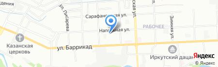 Котельная на карте Иркутска