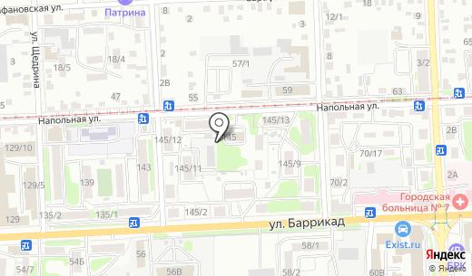 Котельная. Схема проезда в Иркутске