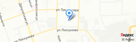 Развитие на карте Иркутска
