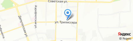 Алеста на карте Иркутска