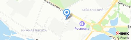 ДОМОФФ СТРОЙ на карте Иркутска